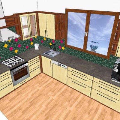 kuchyně D